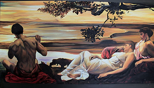 "Cristina Cantone: ""Delicium""- 100x70cm, oil on canvas 100x70cm- 2013."