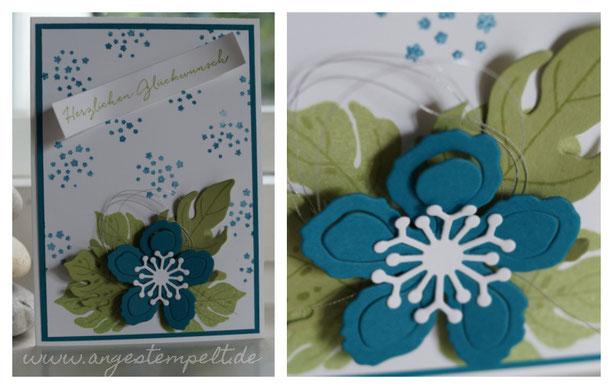 Blumen zum Geburtstag für Andrea! - Patricia Stich 2016