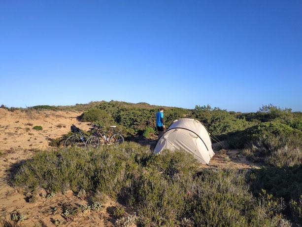 Wild campen in der Natur - was gibt es schöneres? :-)