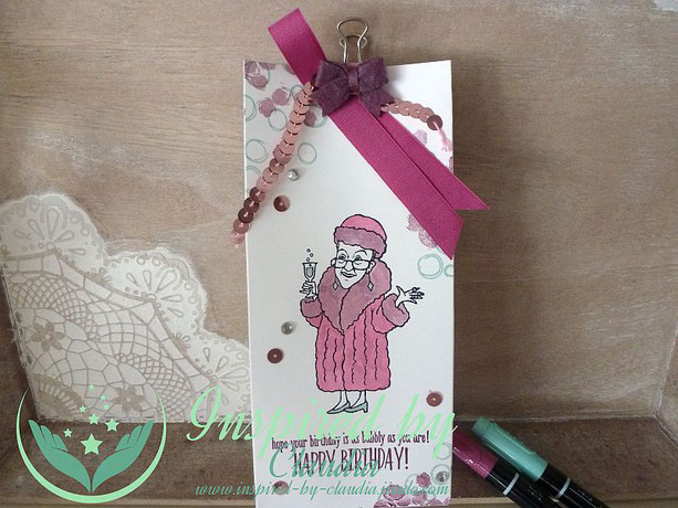 Claudia Kolks-Stegger, Stampin' Up! Stempelset You've got Style