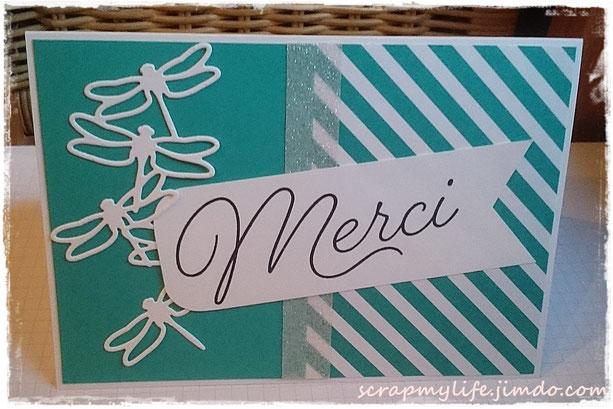 stampin up - Designerpapier Cupcakes und Karussells - Abgehoben - In den Wolken