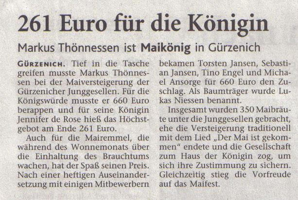Dürener Zeitung, 2008