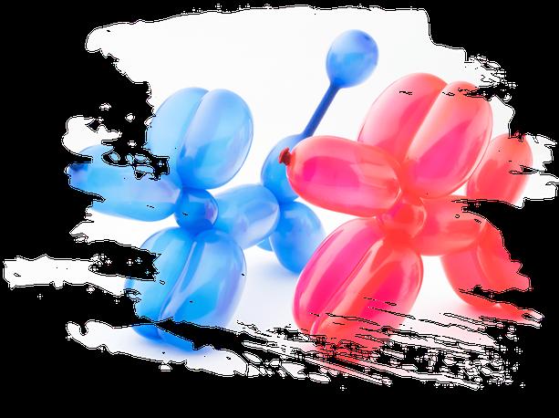 Luftballonkünstler aus Tübingen buchen
