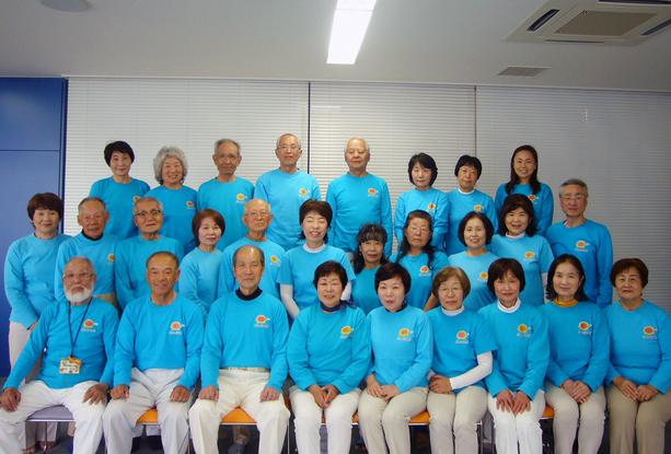 尾張旭市健康づくり推進員会のメンバー(現在 30 名)