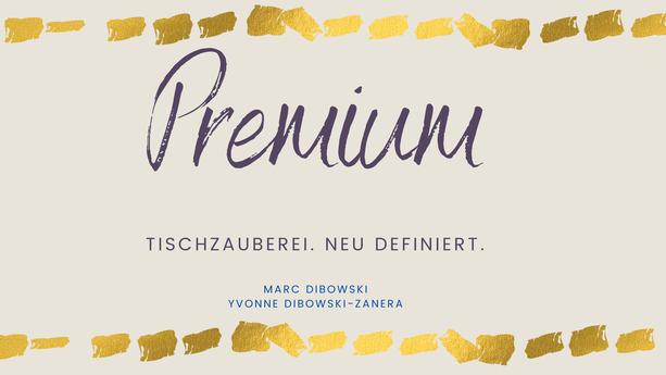 Premium Tischzauberei Geburtstag Feier NRW