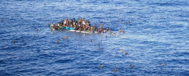 Image: the drama of the refugees in the Mediterranean - a challenge for Europe