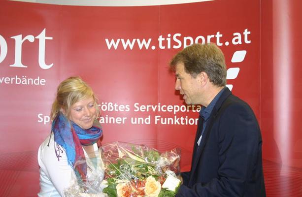 Erhalt des Sportpsychologischen Nachwuchspreises durch die Tiroler Sportfachverbände