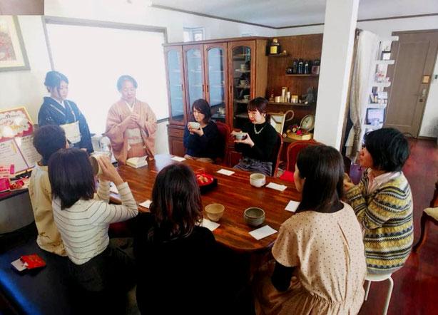 岡崎びゅティーサポートエールのお茶会イベント