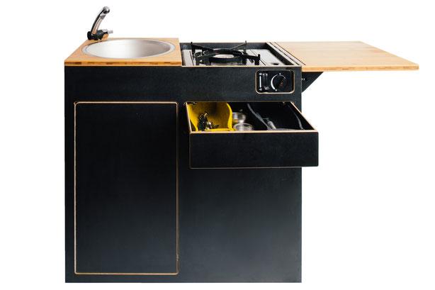 Innenküche, Küchenblock, Küchenmodul