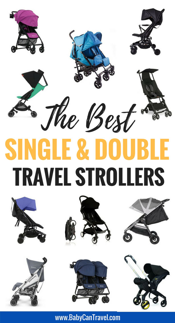 Looking for a travel stroller? With our detailed comparison chart, you'll find the best travel stroller to fit your needs! | Travel Stroller | Travel with baby | Toddler Travel | Baby Gear #Travelstroller #stroller #doublestroller #singlestroller
