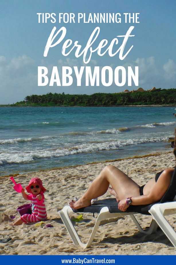 Planning a vacation before baby arrives? There's a lot to think about: where to go, insurance, foods to avoid, etc. Don't miss these tips that will help you plan the perfect babymoon. | #pregnancy #babymoon #pregnanttravel