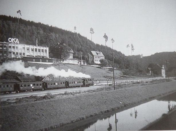 Ausfahrt aus Altensteig