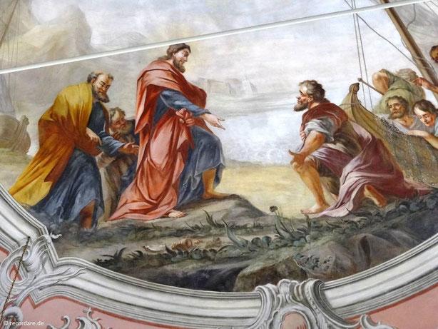 Jakobus wird von Jesus berufen, St. Jakobus, Vierkirchen