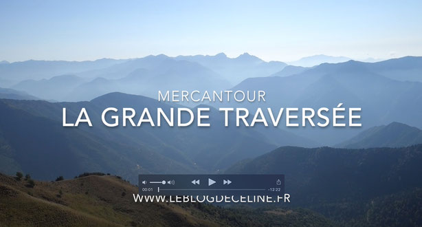 grande traversée du mercantour en video