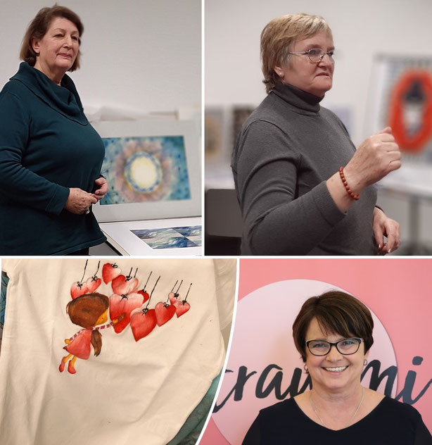 Ilse Küchler, Christine Moser und Roswitha Schaffer