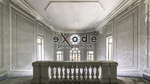 Exode-Photographique Urbex exploration urbaine Chambon Gaëtan abandoned decay