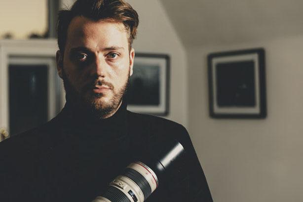 Portrait / Porträt Nicholas Bettschart