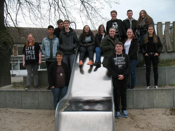 Die Schulsanitäter der OBS Varrel.