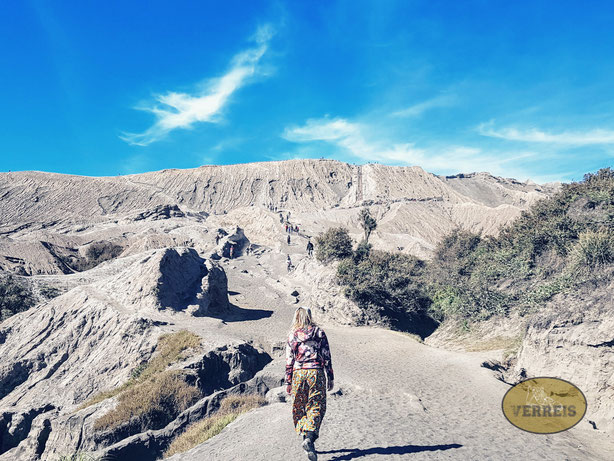 Auf dem Weg zum Vulkan Bromo