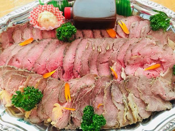 ローストビーフのみはシンプルに食べごたえ抜群!