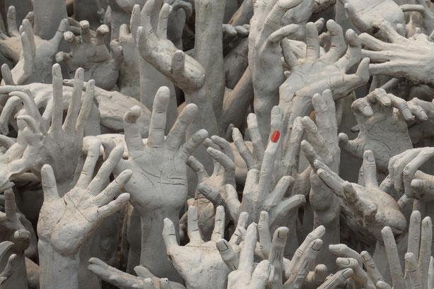 Schrei, Existenzialismus, existenziell, Abgrund, Hände, Verzweiflung