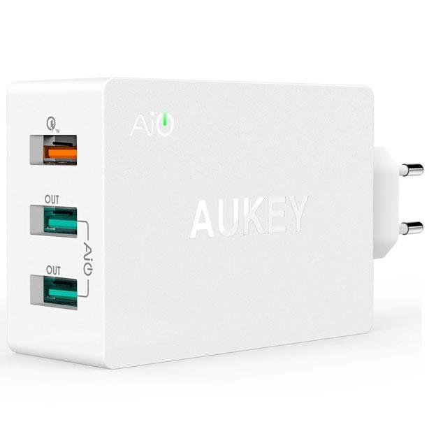 Aukey estación de carga 3 USB