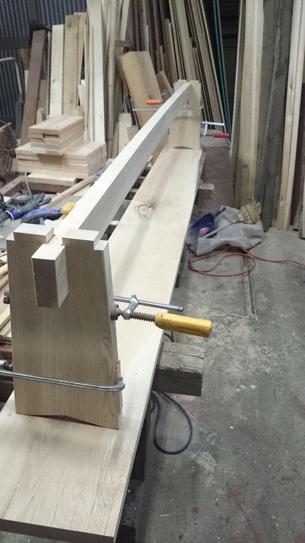 無垢材の家具製作