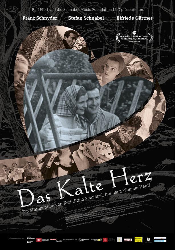 Filmplakat: Das Kalte Herz | Konzept, Layout und Grafik by Lockedesign 2016