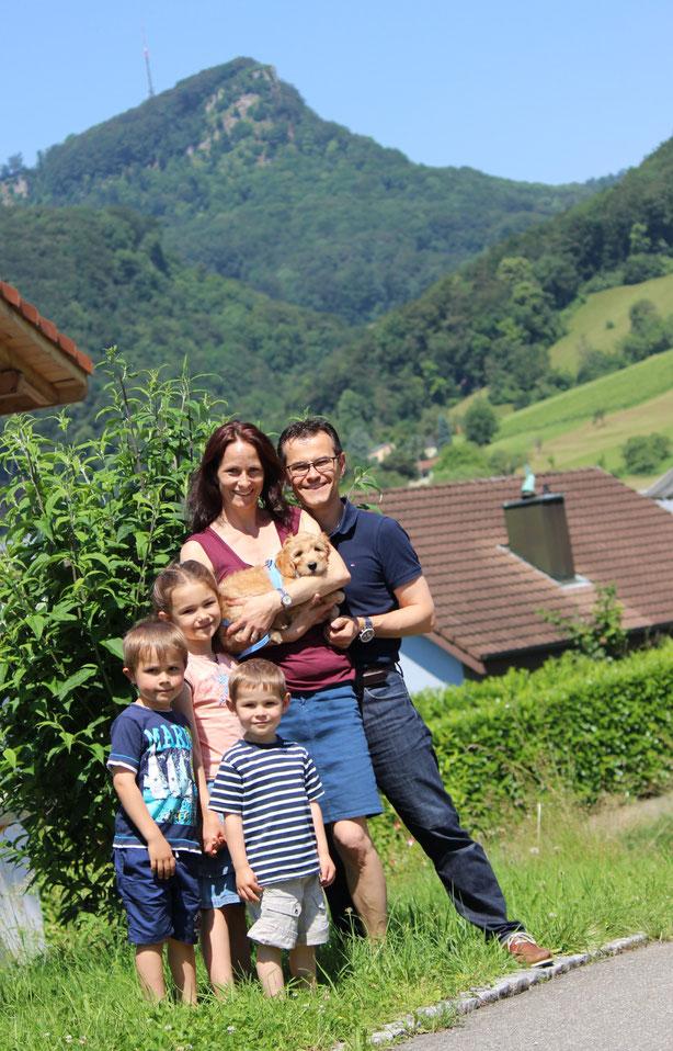 Familie Oehler hat ihre GIOIA am 24.Juni 2016 abholen dürfen