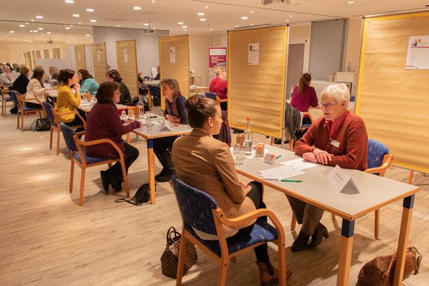 Unternehmerinnen-Speed-Dating beim U-Netz Heidekreis e.V.