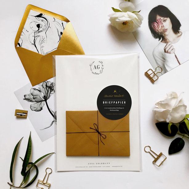 studio vanhart – Papeterie & Design www.studiovanhart.de / Briefpapier personalisiert