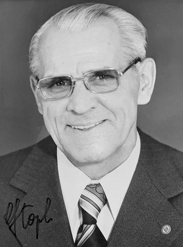 Autograph Willi Stoph Autogramm