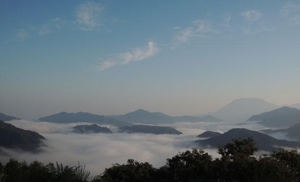 2017年9月、鳥取との県境明智峠からの雲海