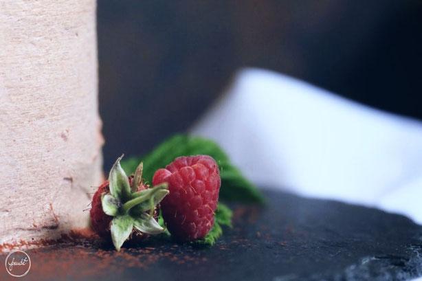 Schokoladentörtchen mit Himbeerfrischkäse Füllung | Freude ²