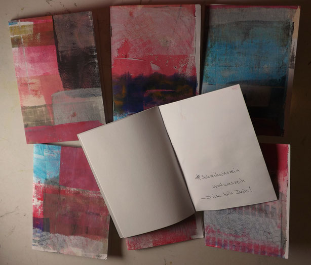 schreibwasrein  Hefte gehen auf die Reise