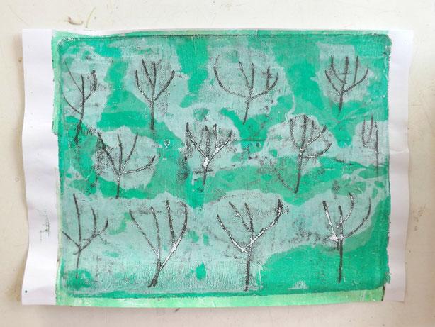 Frühlingsbäume 3