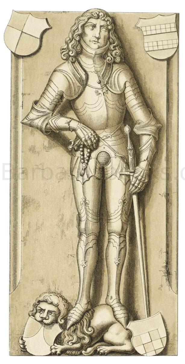 Grabstein eines Ritters