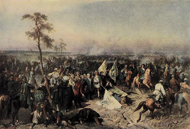 The Great Northern War ( 1700-1721 )  Riga werd in 1710 deel van het Russische Rijk
