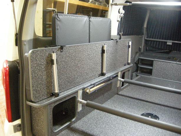 NV350キャラバンでスキーなどウインタースポーツ用のトランポを作りましょう!
