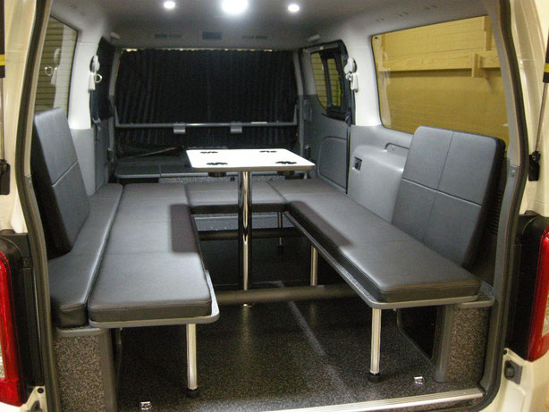 NV350で車中泊するならOSPのライトキャンパーがオススメ!
