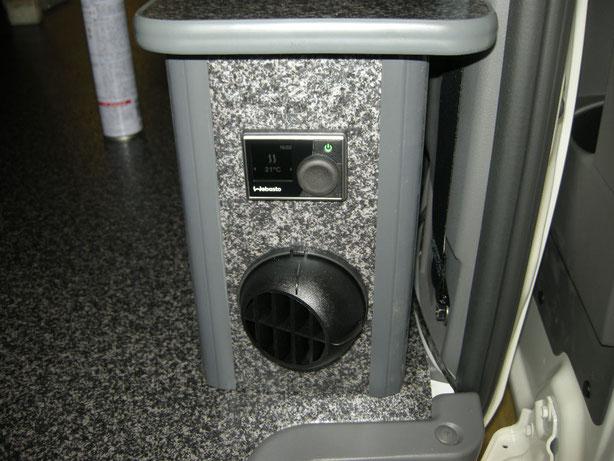 NV350 ハイエースにFFヒーターを取り付けました