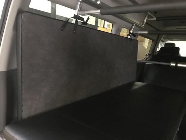 NV350キャラバンでトランポを作るならOSPトランポキット