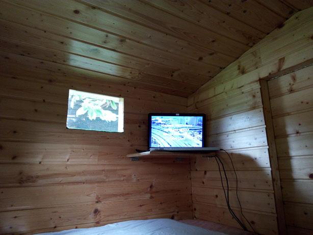 Tiny House Tiny Haus Camping im Grünen ohne Elektrosmog campen Unser Schäferwagen im Grünen Aussteiger