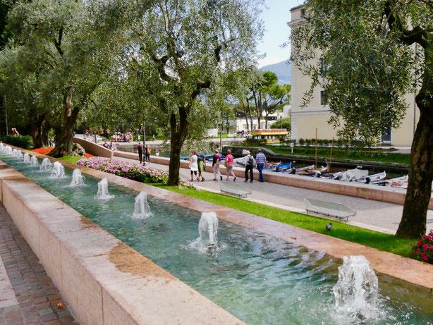 Italienreise, Riva am Gardasee