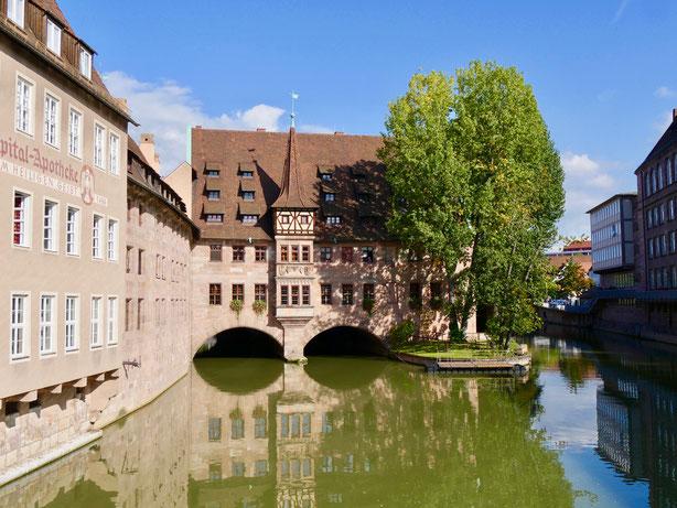 Das heilig Geist Spital in Nürnberg von 1339
