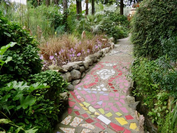 Gartenreise Italien, Andre Heller Garten, Gardasee