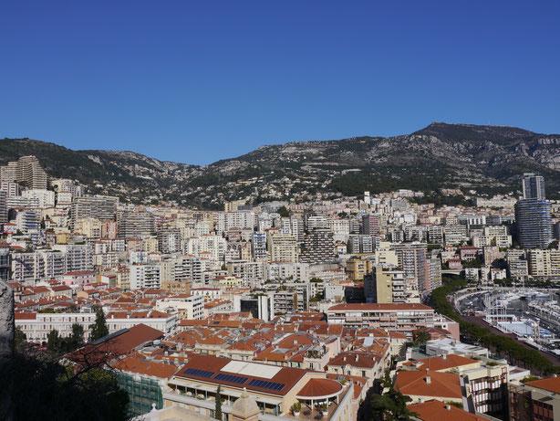 Foto vom Yachthafen von Monaco auf meiner Städtereise nach Monaco