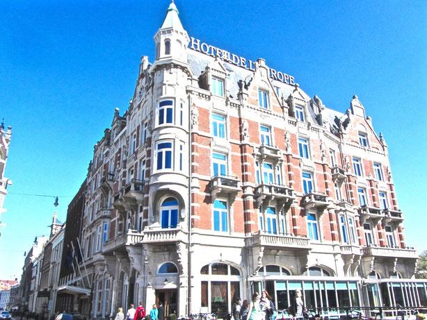 Amsterdam: Das Hotel Europa