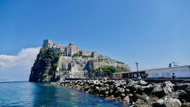 Gartenreise Italien, Ischia Aragoneser Burg