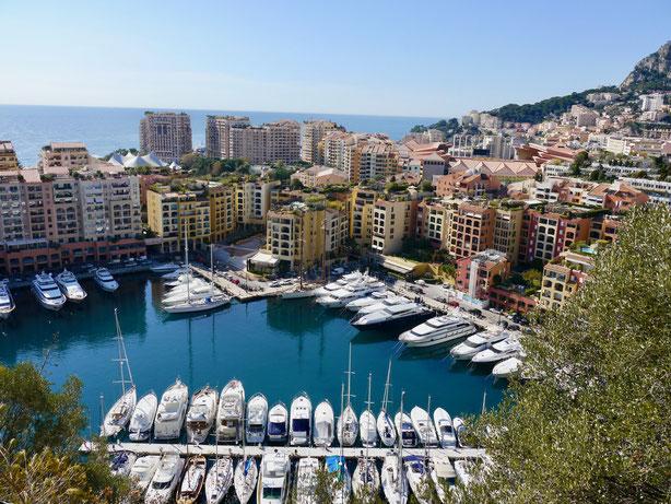 kleiner Yachthafen von Monaco